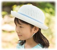 帽子とともに